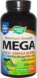 natures-way-maximale-sterkte-omega-369-mix-limoen-smaak-1350-mg-180-gelcapsules-visolie-voedingssupplement